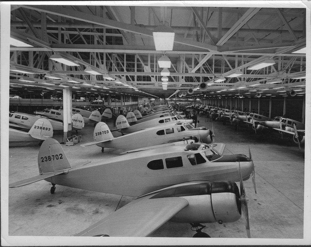Cessna Aircraft Assembly Line, Wichita, Kansas - 2