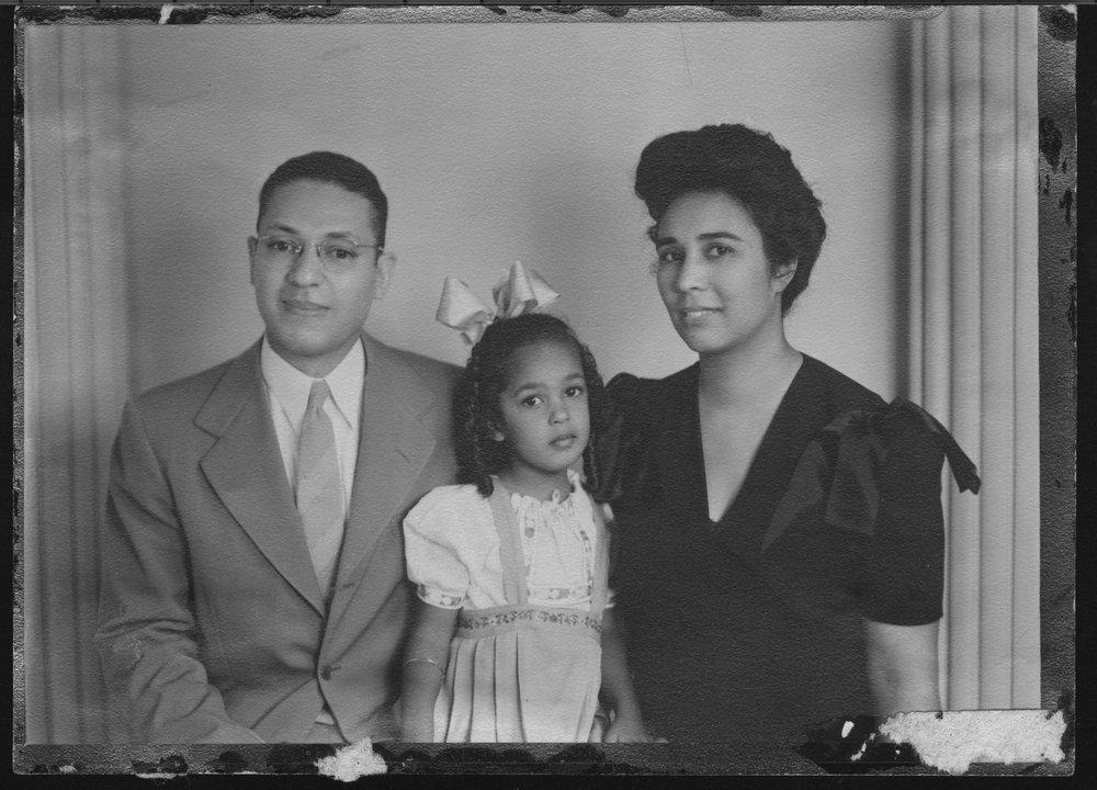 Alvin and Lucinda Todd family in Topeka, Kansas