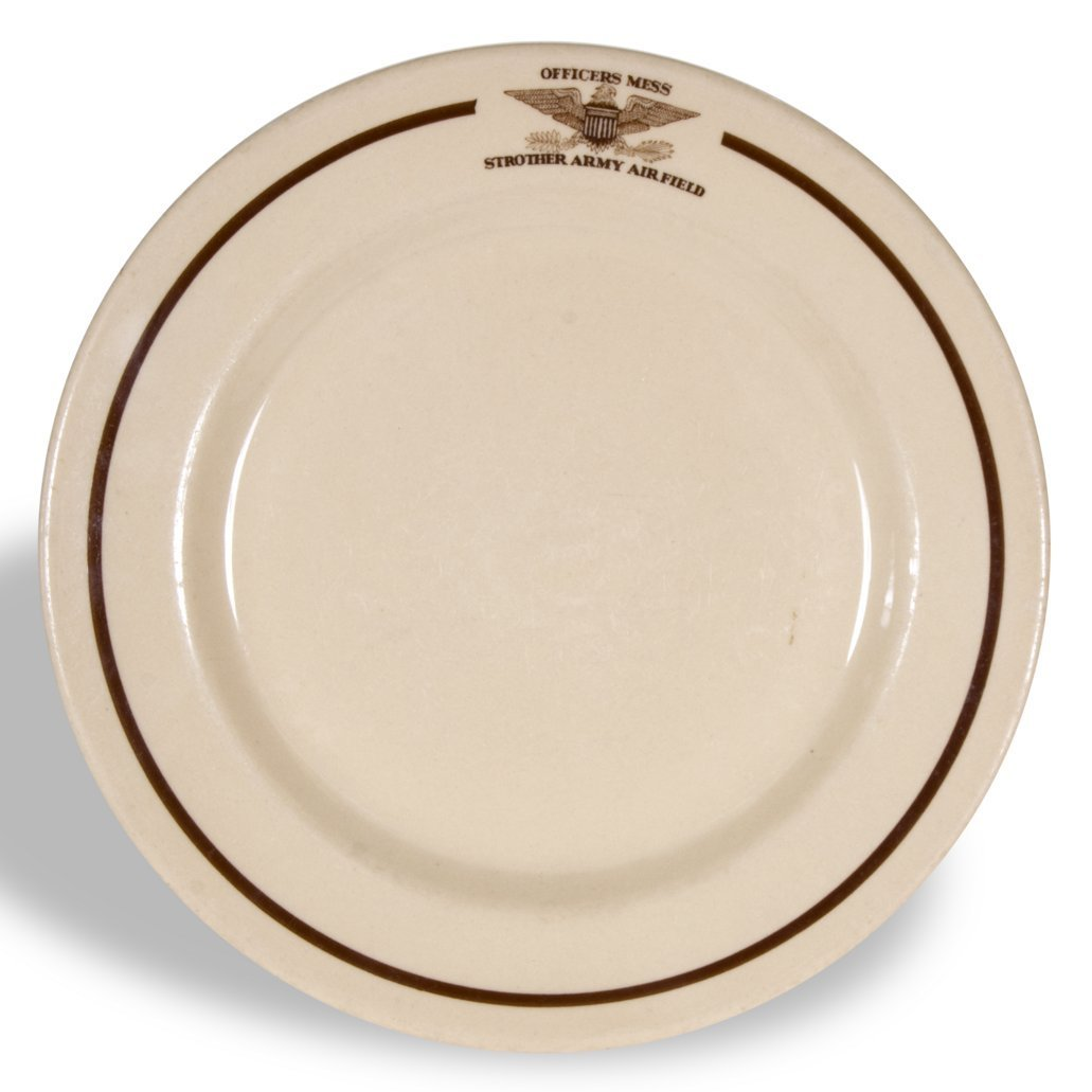 Strother Army Air Field plate