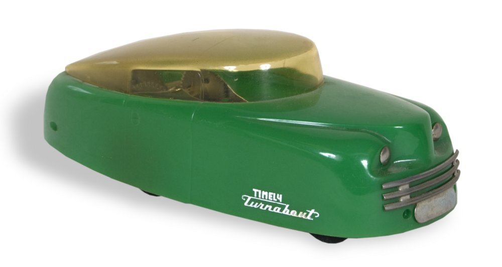 Timely Turnabout toy car