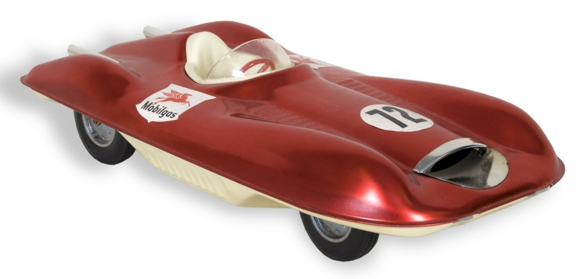Toy Mobilgas car