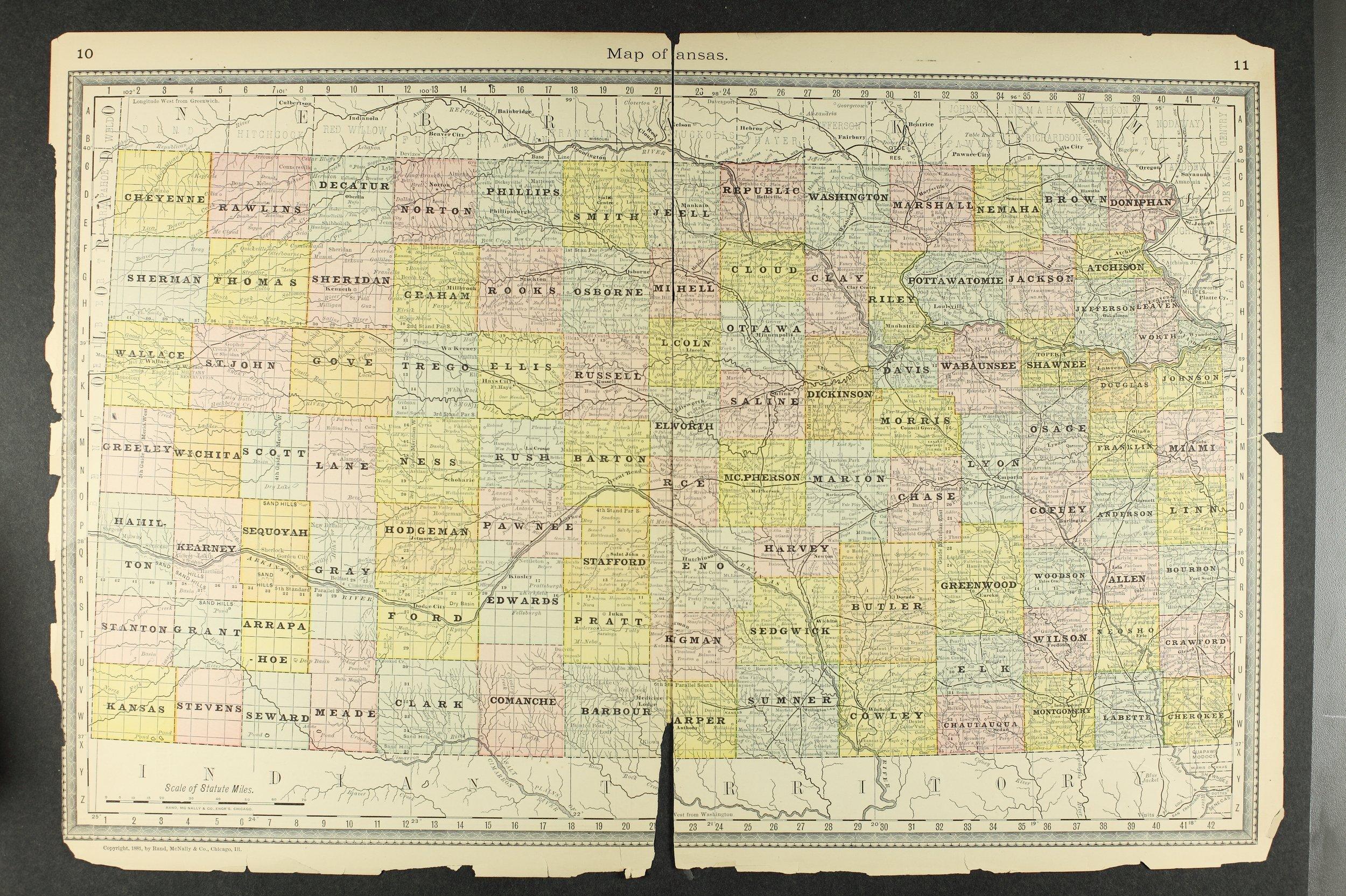 Historical Plat Book of Jackson County, Kansas - Map of Kansas