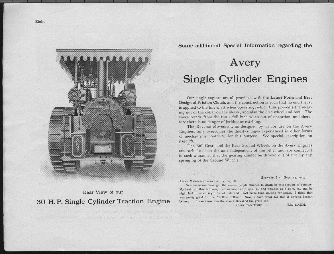 Avery Manufacturing Company catalog - 8