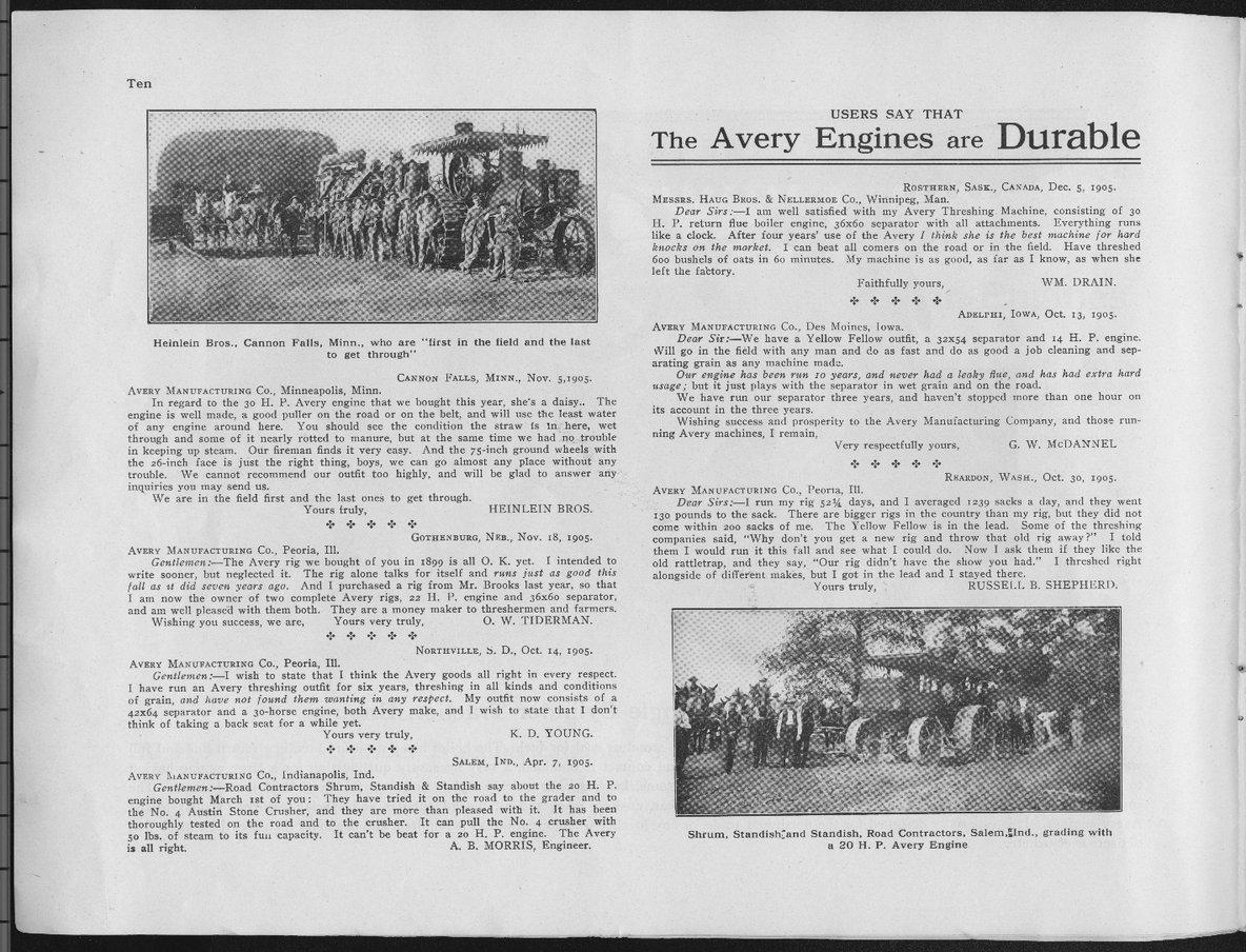 Avery Manufacturing Company catalog - 10