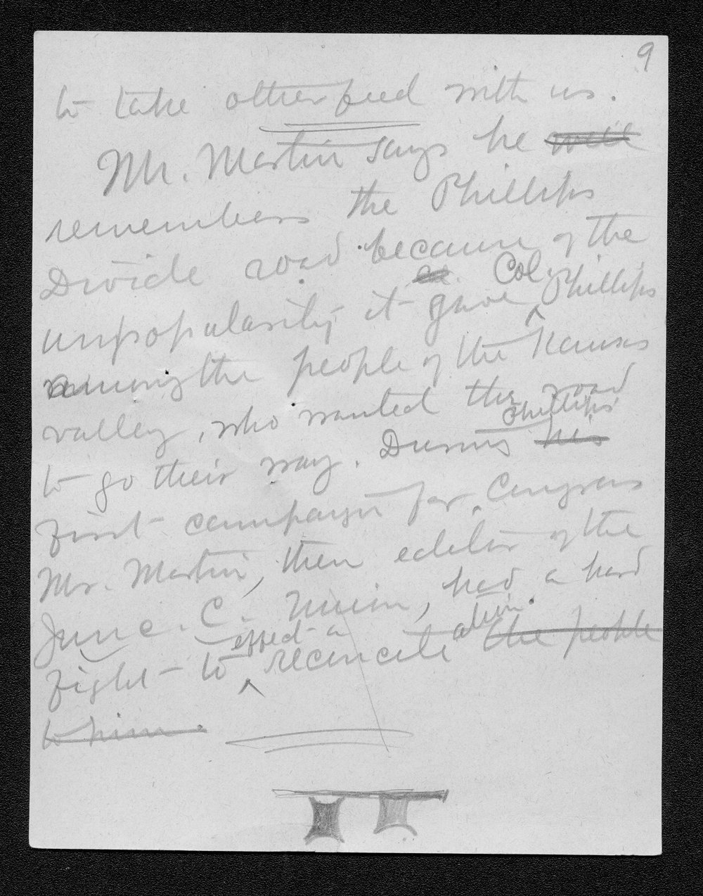 Trails correspondence - 10