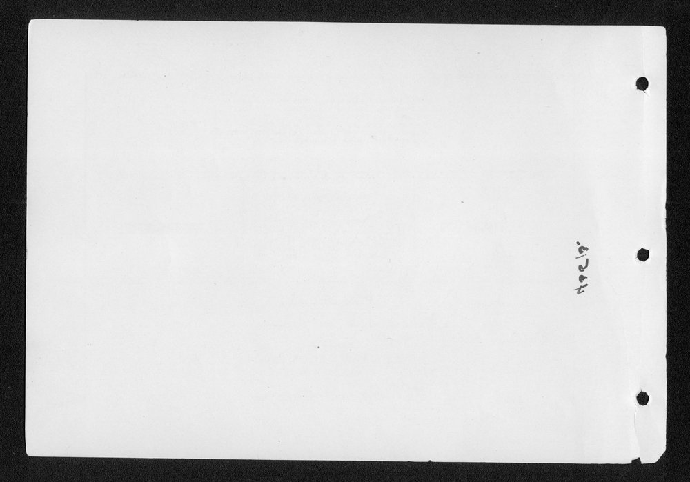 Souvenir, Hamilton County and Syracuse, Kansas - blank page
