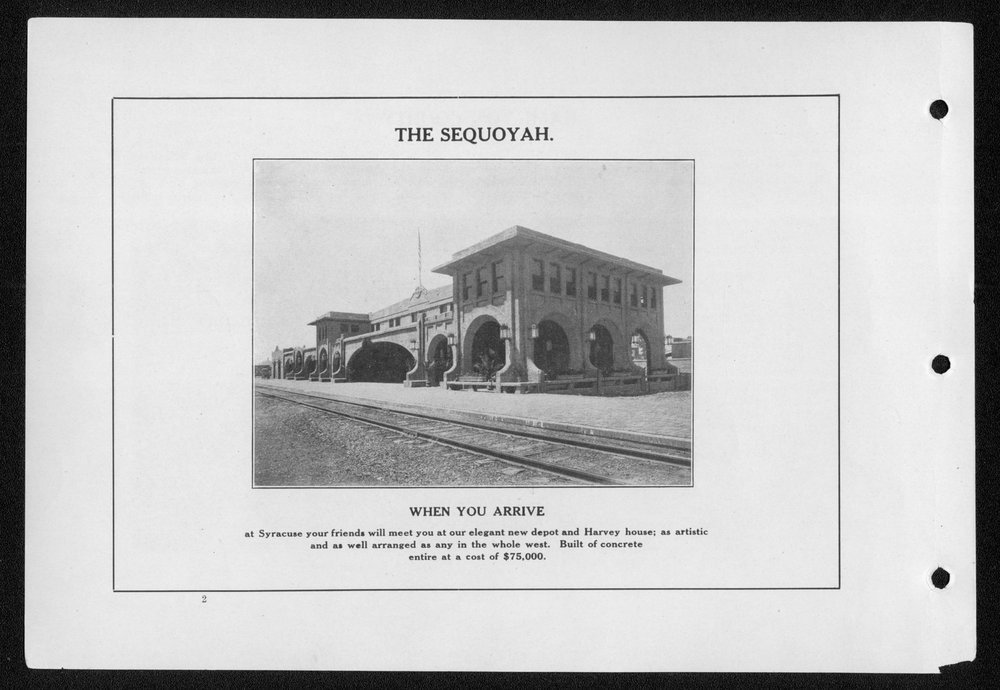 Souvenir, Hamilton County and Syracuse, Kansas - 2