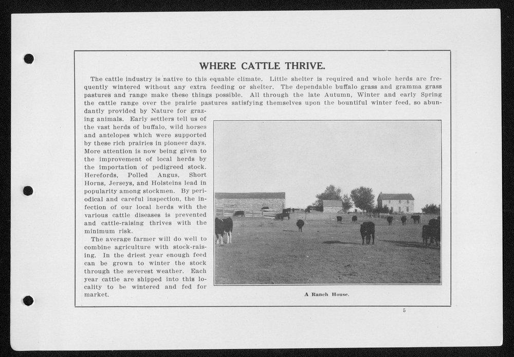 Souvenir, Hamilton County and Syracuse, Kansas - 5