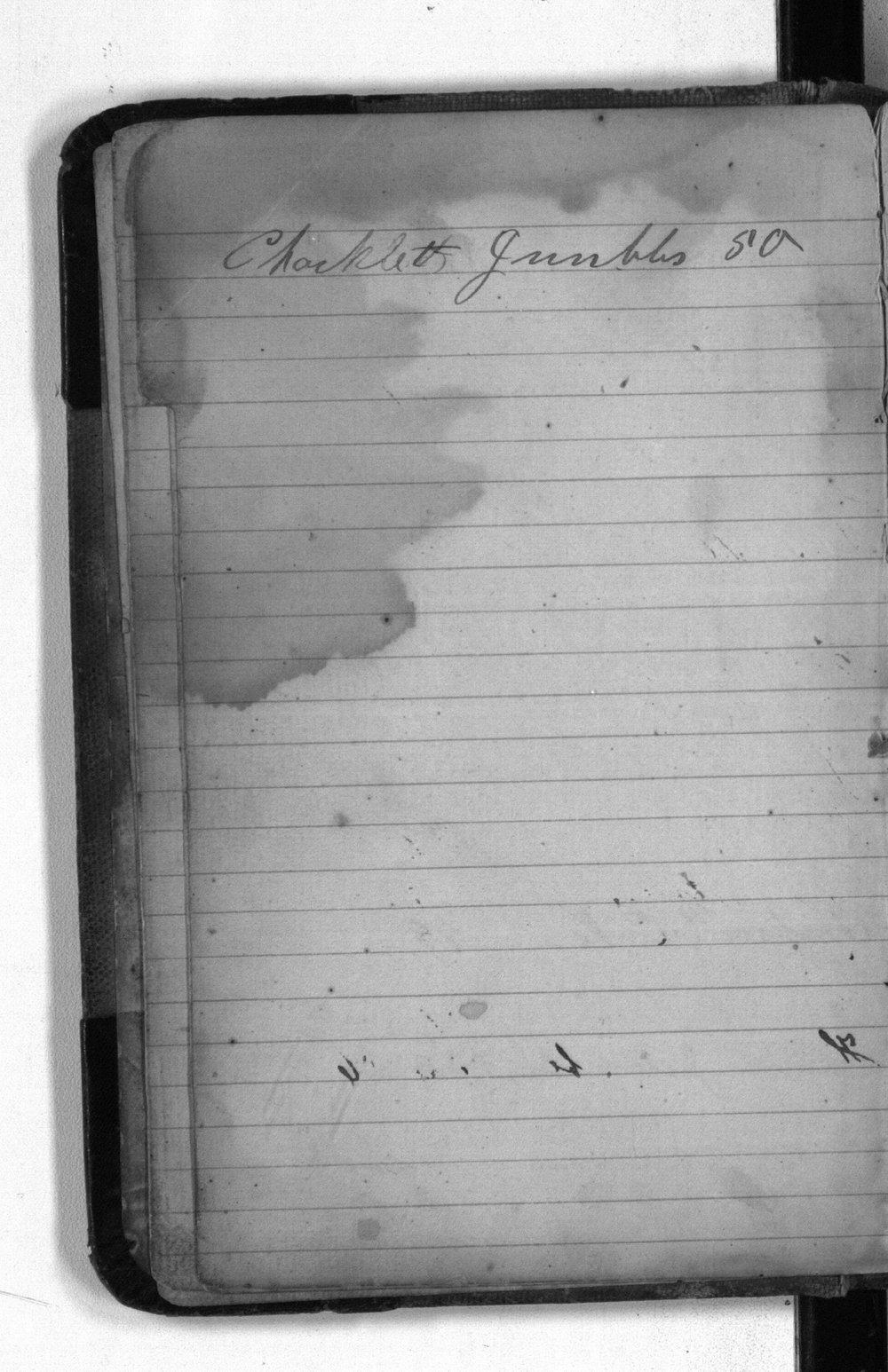 F. W. Yanner cookbook - Index