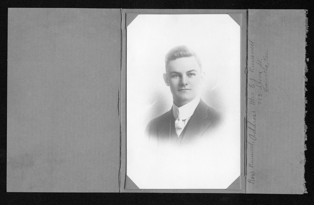 Ross J. Rummel, World War I soldier - 1