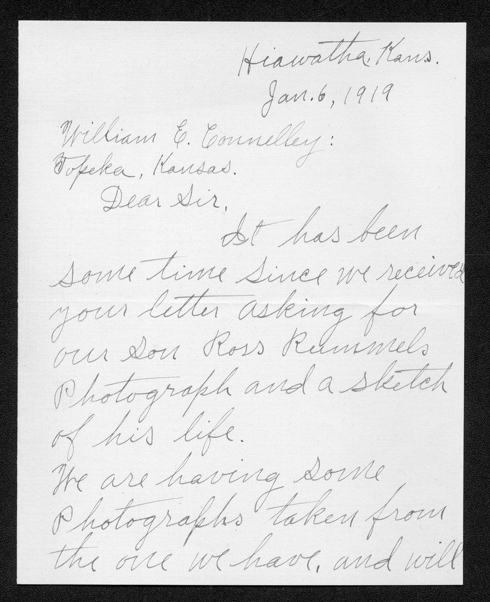 Ross J. Rummel, World War I soldier - 5
