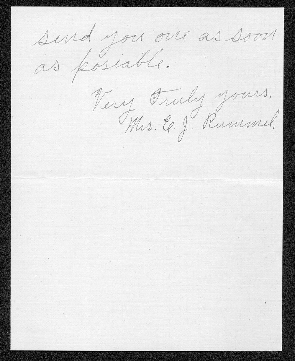 Ross J. Rummel, World War I soldier - 6