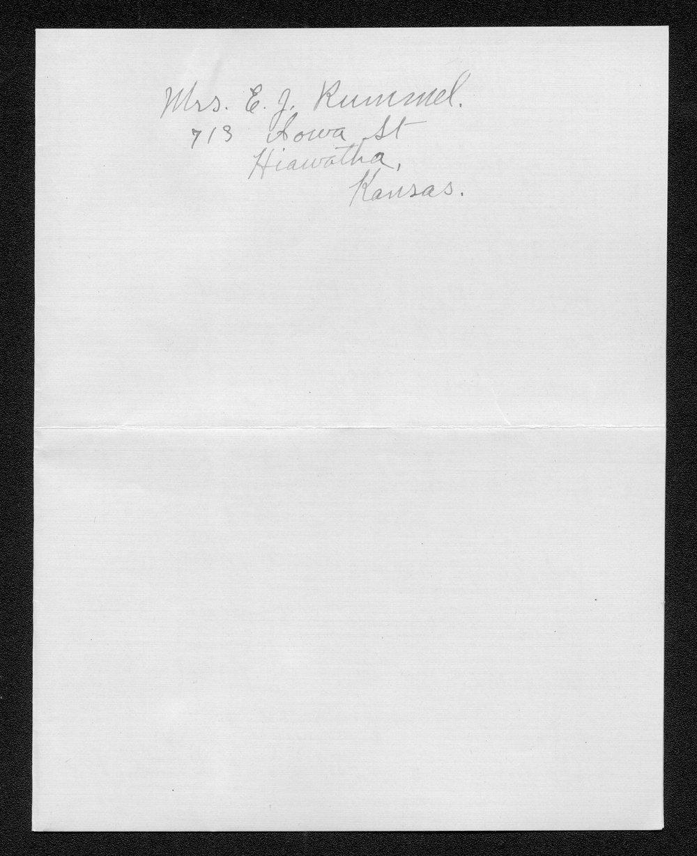 Ross J. Rummel, World War I soldier - 9