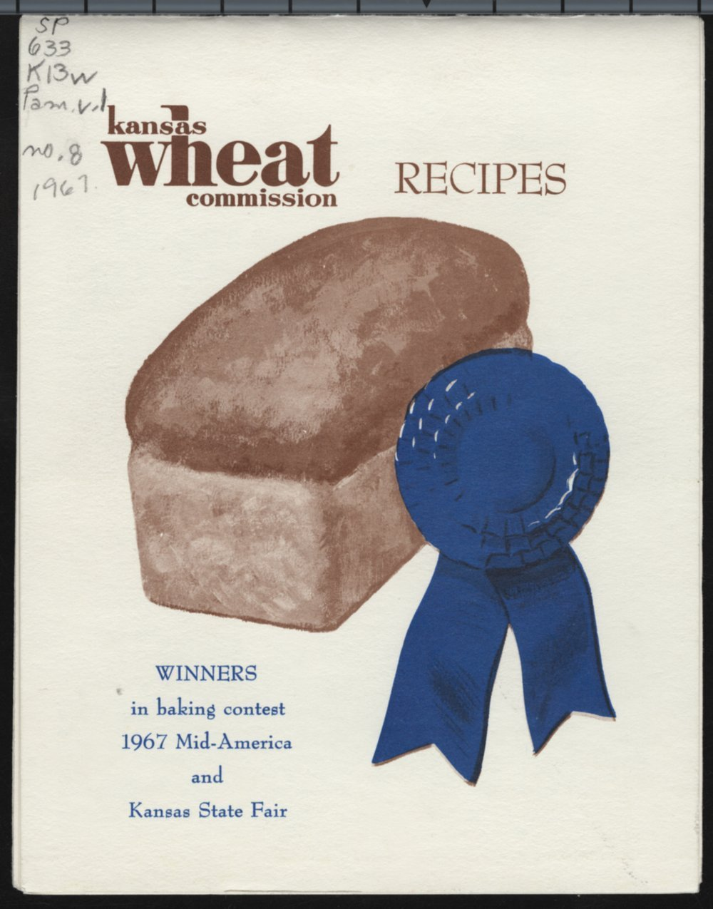 Kansas Wheat Commission recipes - Front Cover