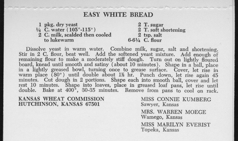 Kansas Wheat Commission recipes - 8