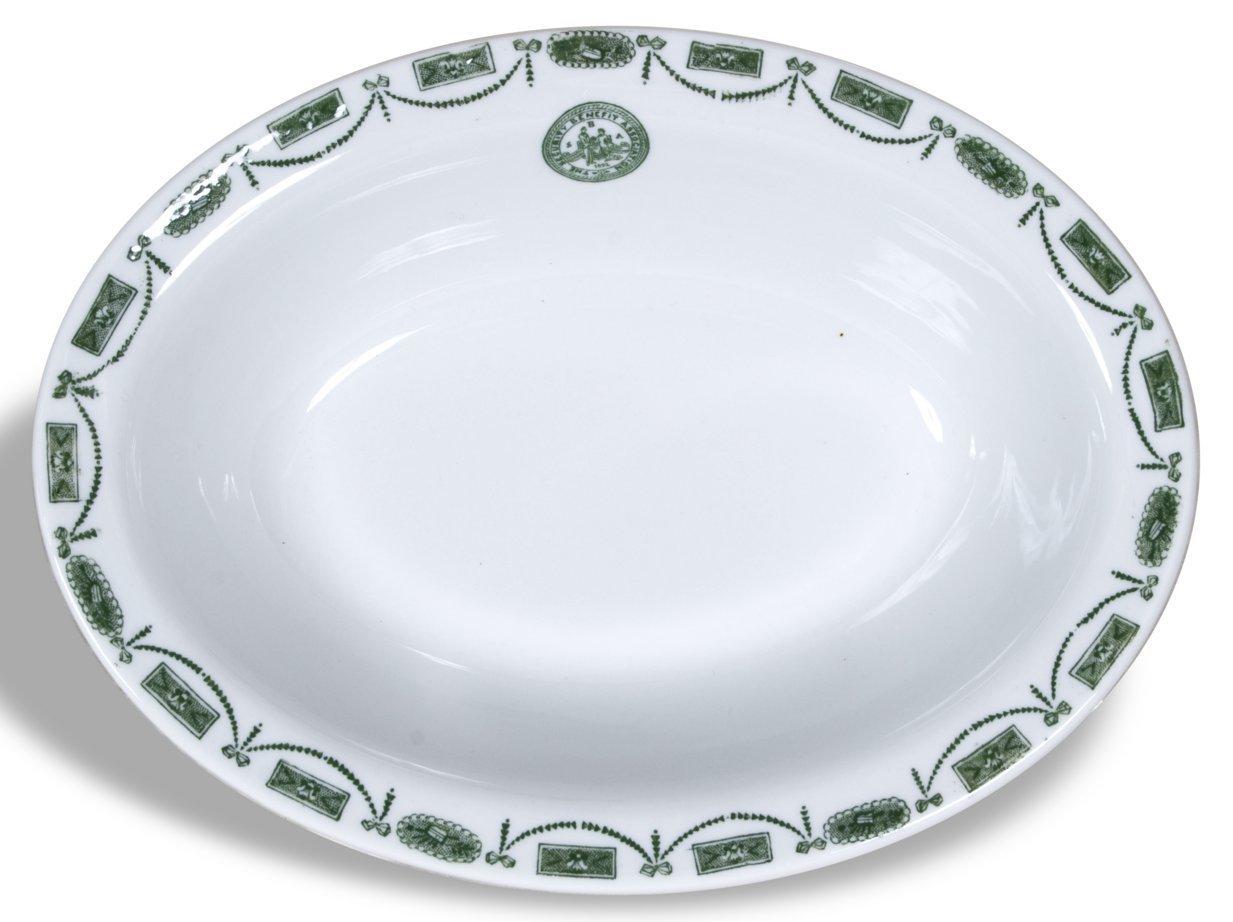 Security Benefit Association serving bowl