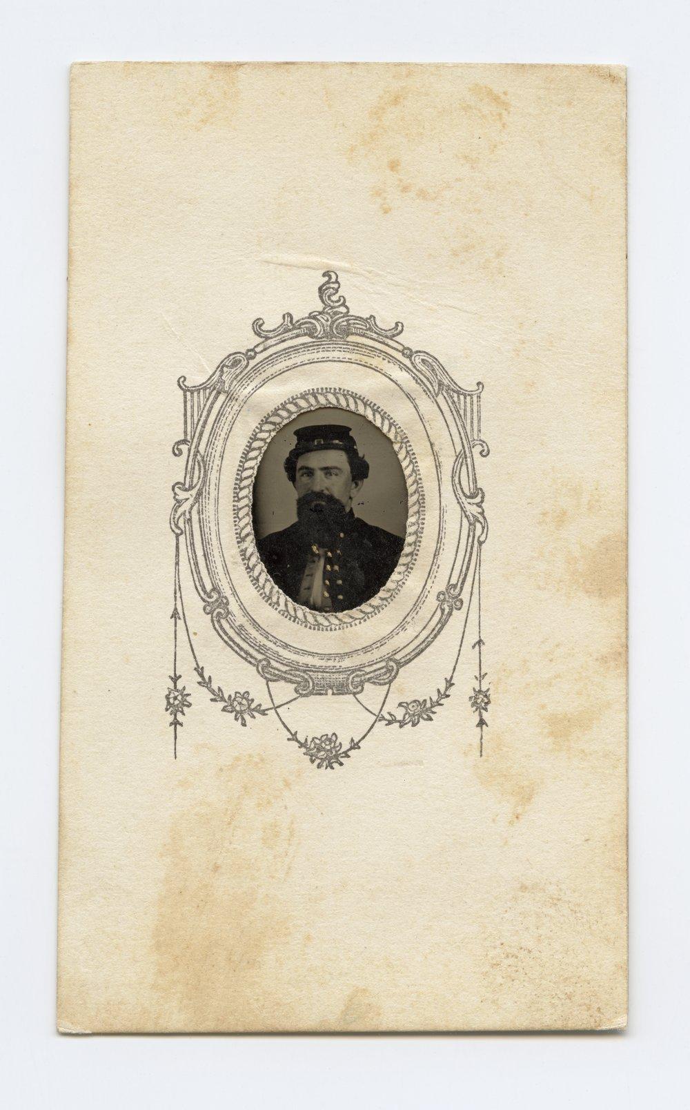 Unidentified member of the 11th Kansas Volunteer Cavalry