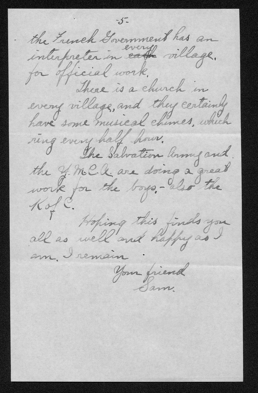 Samuel D. Russell, World War I soldier - 10
