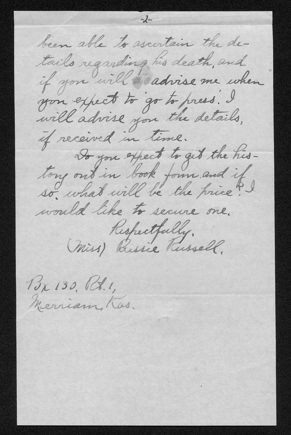 Samuel D. Russell, World War I soldier - 12