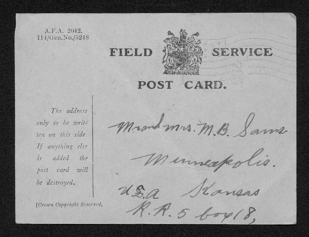 William Robert Sams, World War I soldier - 2