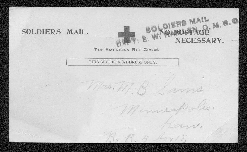 William Robert Sams, World War I soldier - 3