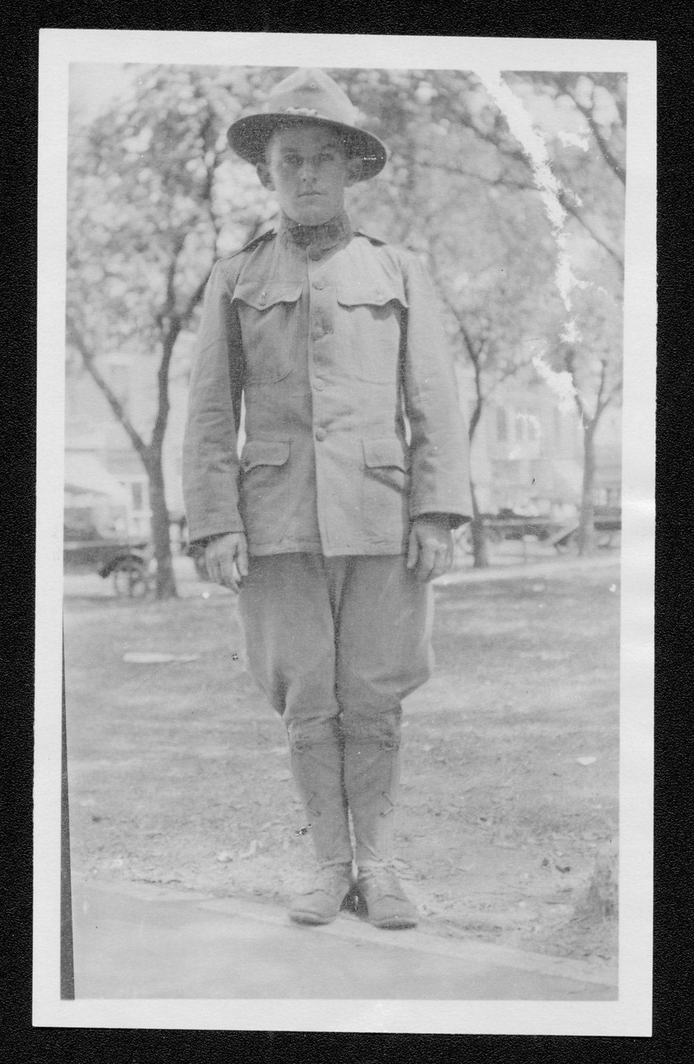 William Harold Sanders, World War I soldier - 1