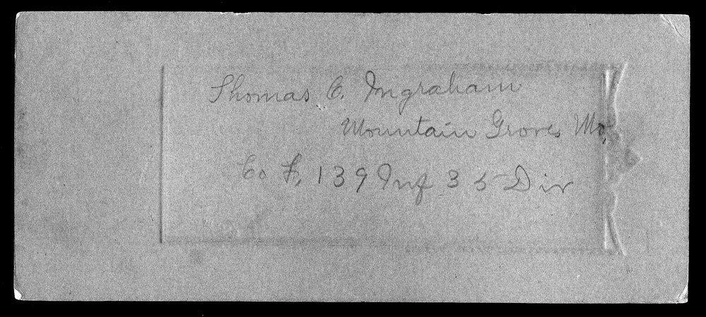 Thomas C. Ingraham, World War I soldier - 2
