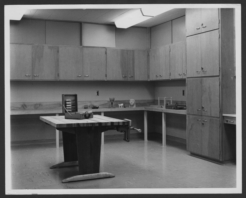 Interior views of the Menninger Clinic Children's units in Topeka, Kansas - 1
