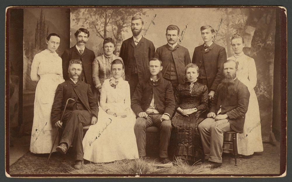 Campbell College, Holton, Kansas - Campbell college faculty, 1885