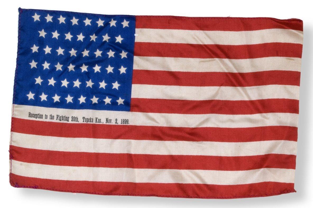 Miniature US flag