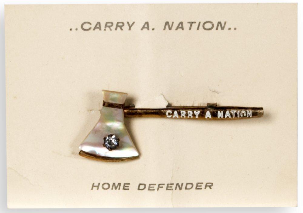 Carry Nation souvenir pin