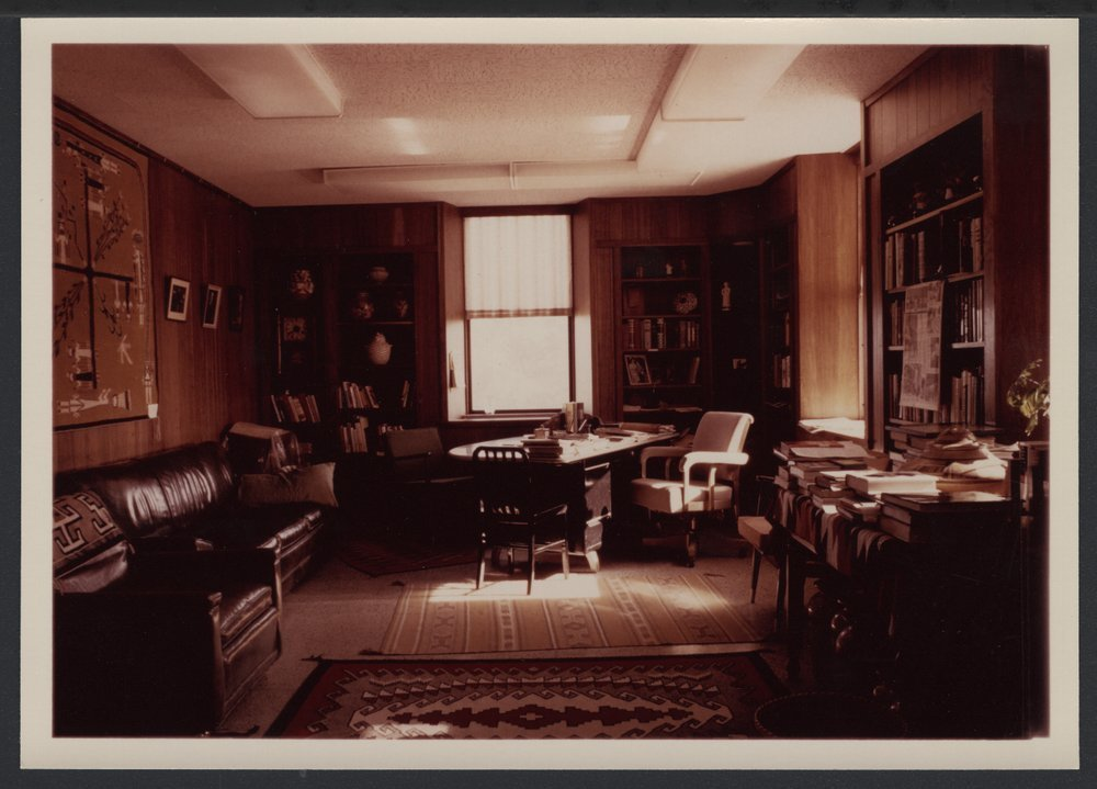 The Tower Building, Menninger West Campus in Topeka, Kansas - Dr. Karl Menninger's office in the Tower building.