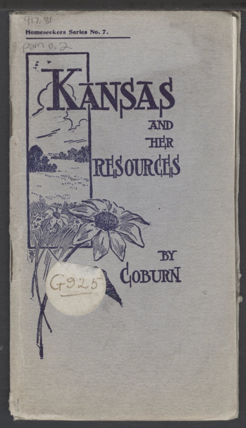 Kansas and her resources - Front Cover