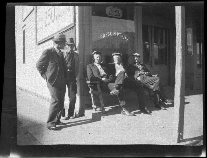 Drug store in Rosalia, Kansas