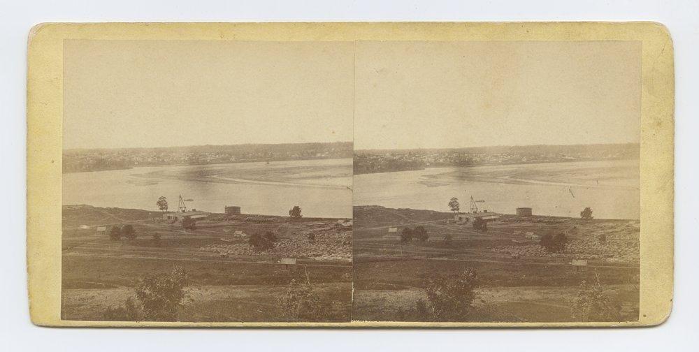 Great Bend, Missouri River, at Wyandotte, Kansas - 1