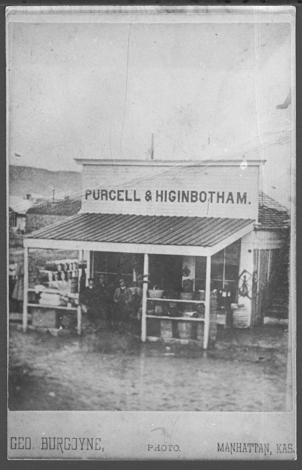 Purcell & Higinbotham store in Manhattan, Kansas