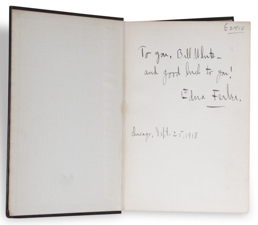 Edna Ferber inscribed book - 2