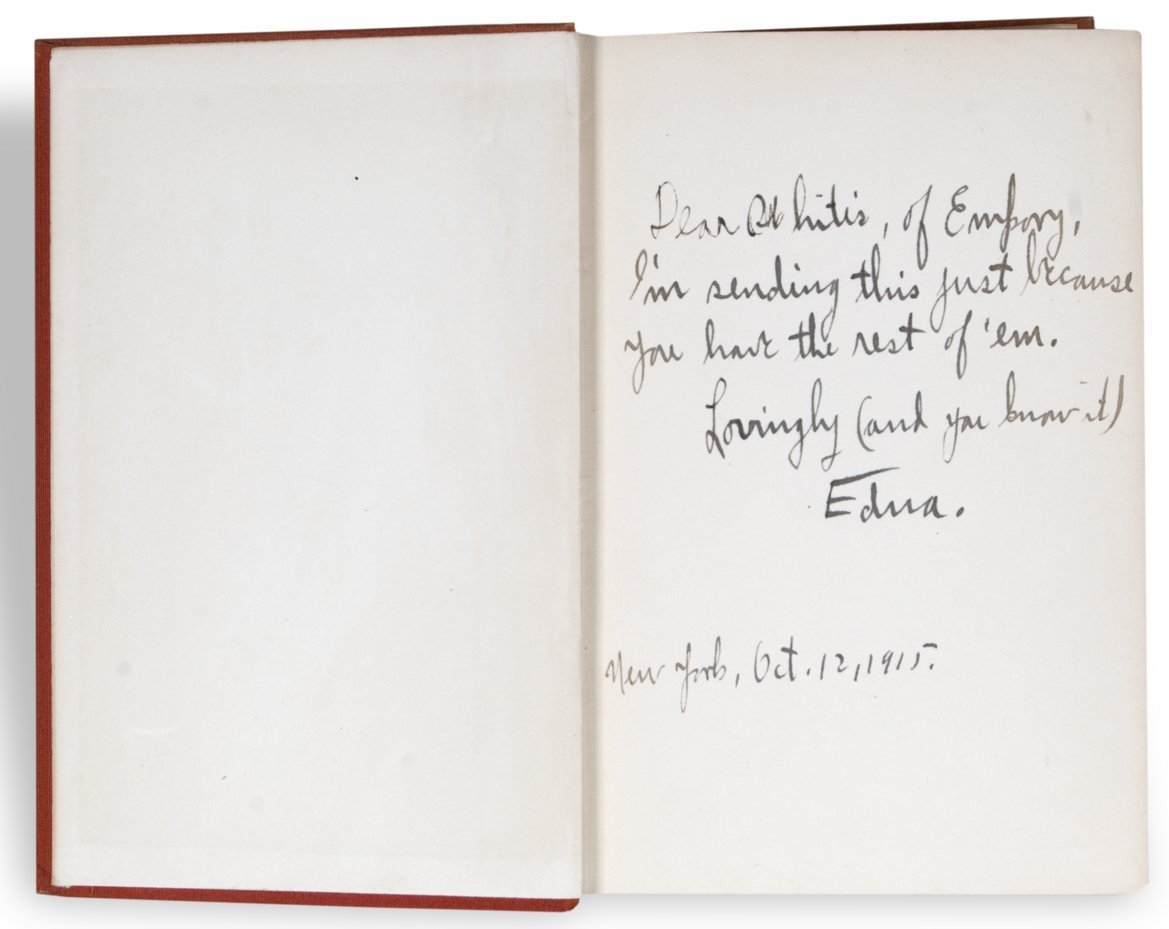 Edna Ferber inscribed book - 2