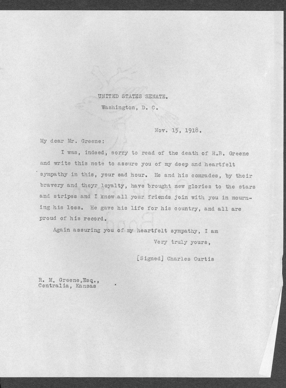 Robert Bryan Greene, World War I soldier - 35