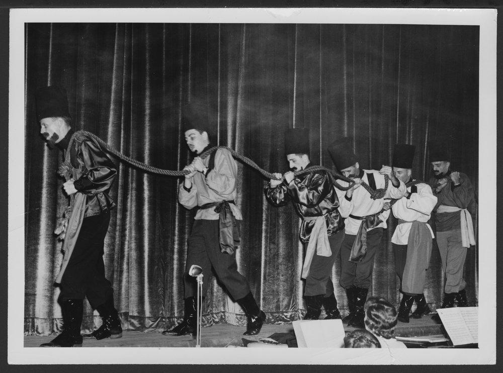 Freudian Follies at the Menninger Clinic, Topeka, Kansas - Emile Eckart, George Roark, Jerry Katz, John Grimshaw, John Adams, Willard Hoyt in 1951
