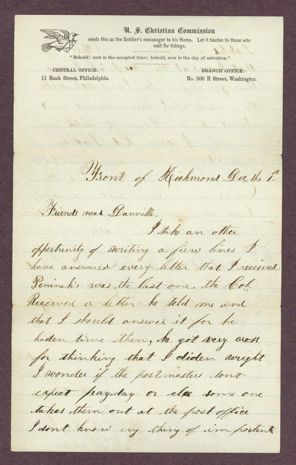 Abbie Bright correspondence - 3