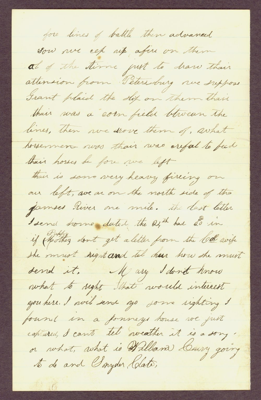 Abbie Bright correspondence - 9