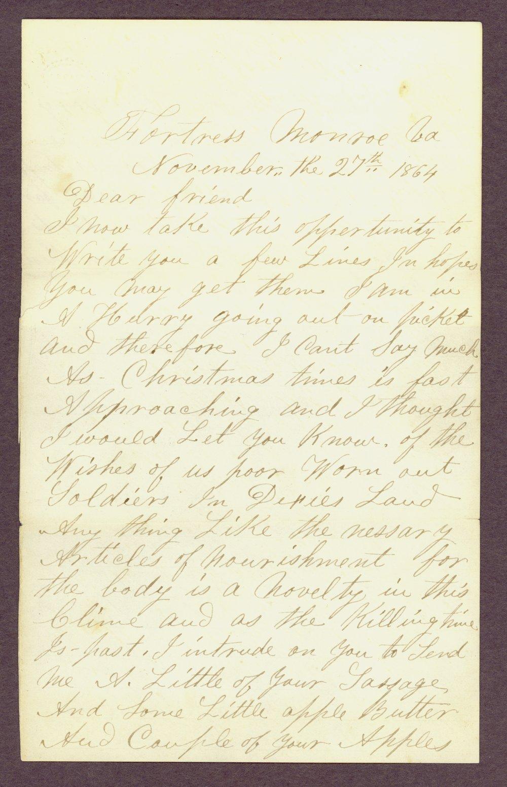 Abbie Bright correspondence - 13