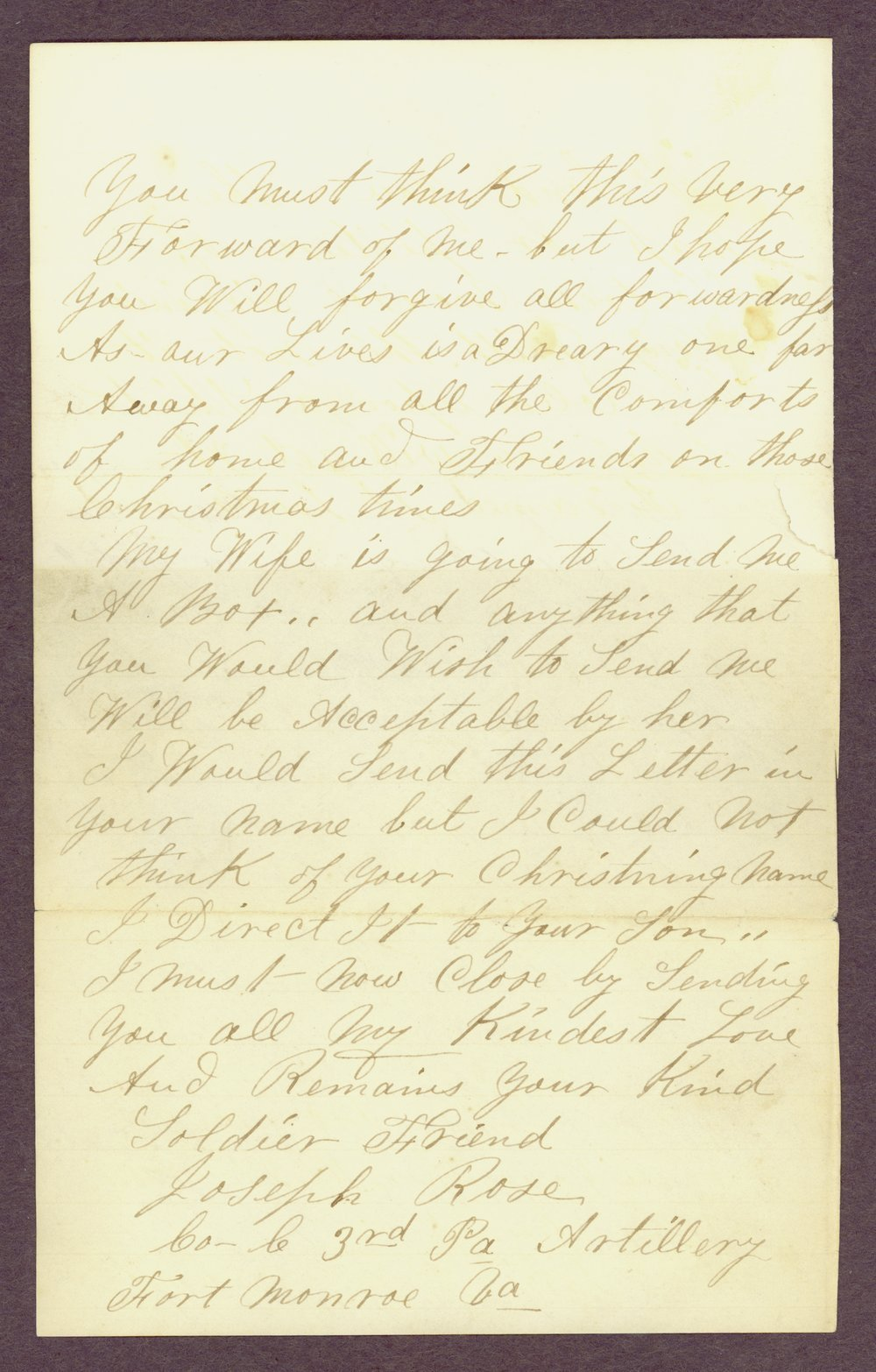 Abbie Bright correspondence - 14