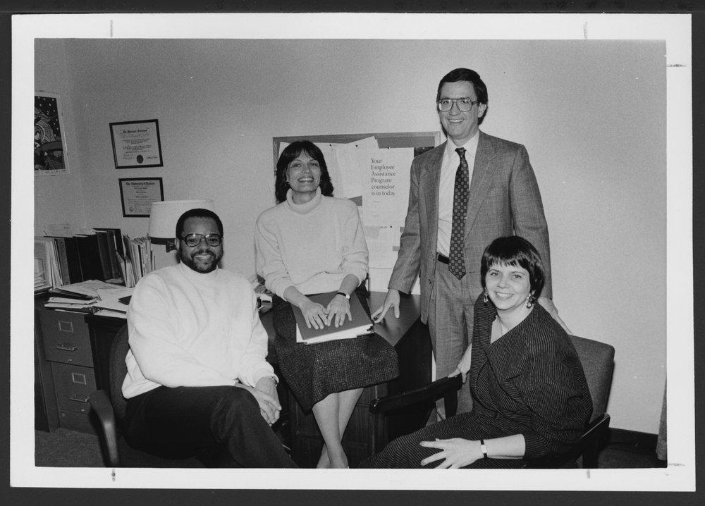 Staff of the Menninger Community Service Office, Topeka, Kansas
