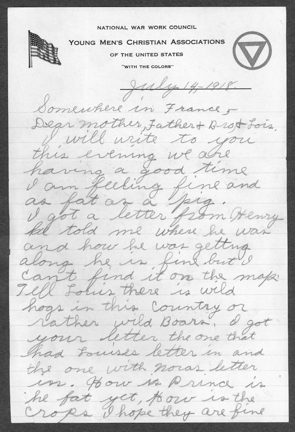 Alvin Artie Gregg, World War I soldier - 2