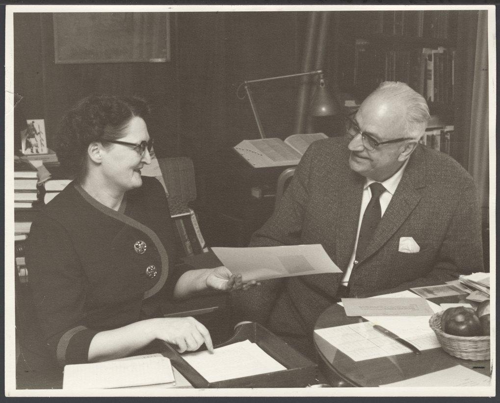 Dr. Karl Menninger - Mrs. Kay Bryan and Dr. Karl