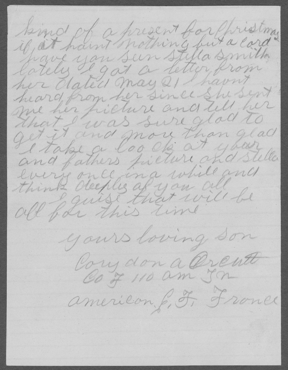 Corydon Orcutt, World War I soldier - 12
