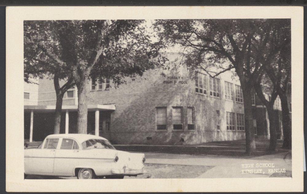 Kinsley High School in Kinsley, Kansas