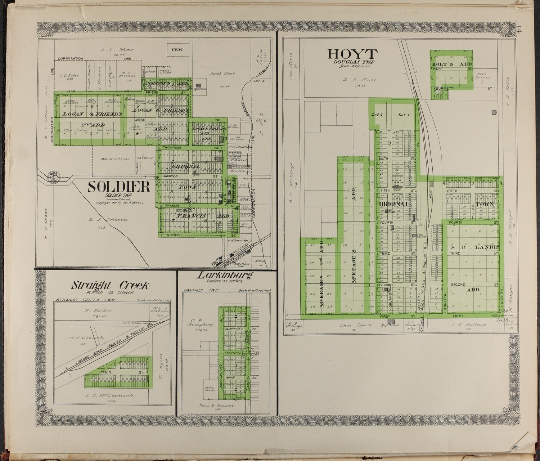 Standard atlas of Jackson County, Kansas - 14